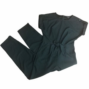 Banana Republic Black Tie Waist Pockets Jumpsuit 6